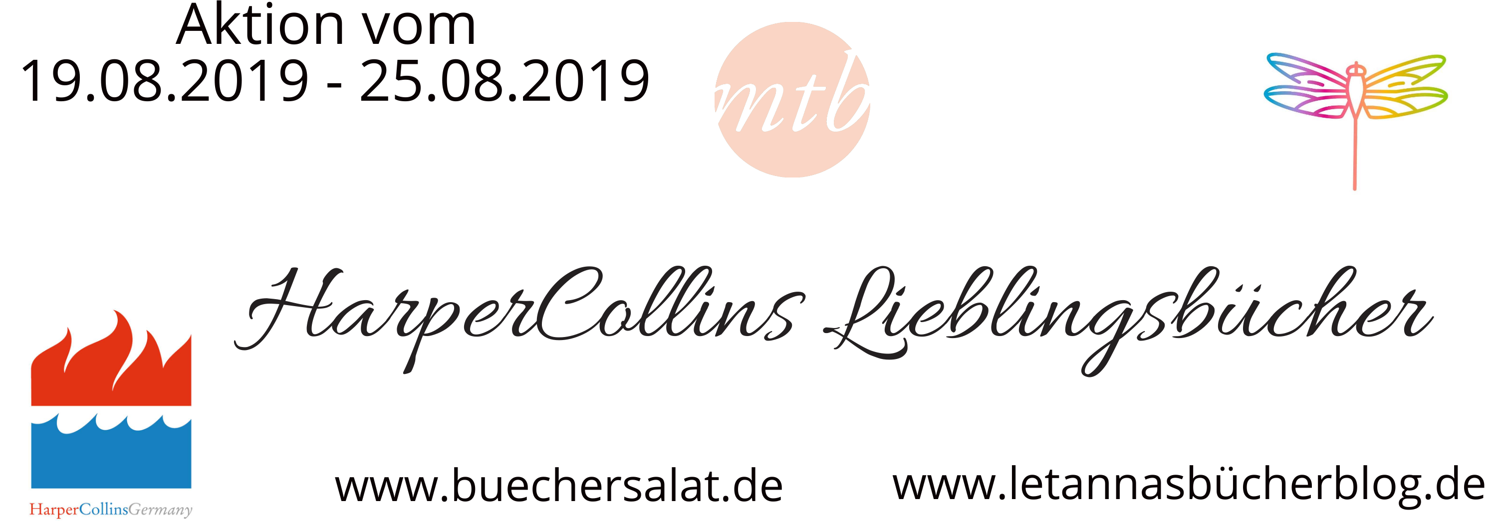 [Werbung] We Love HarperCollins – Aktionswoche –